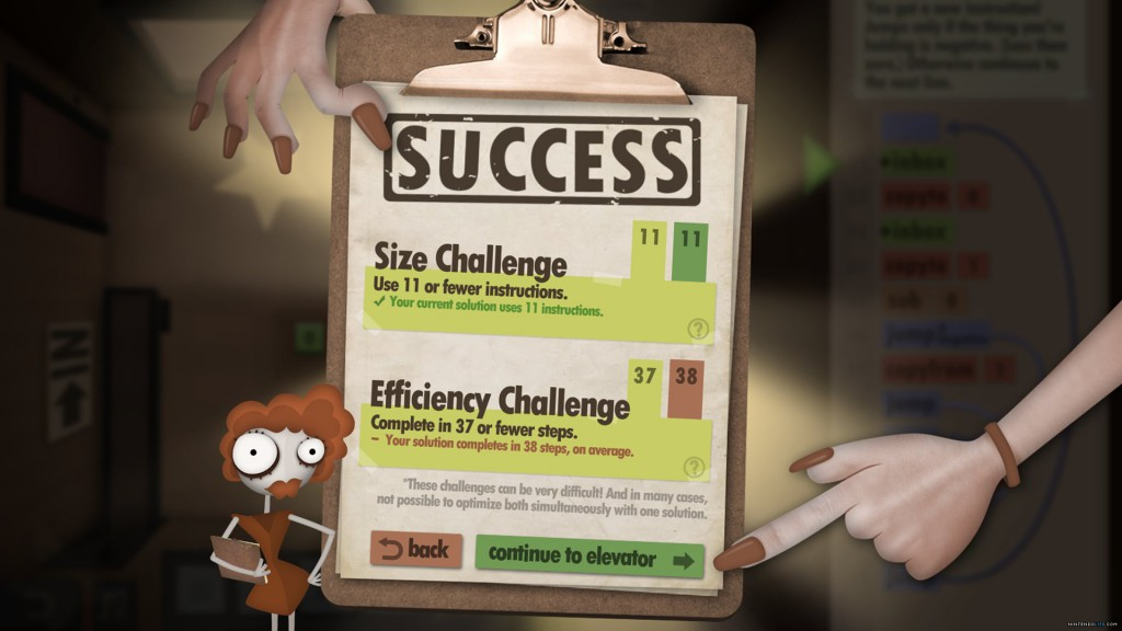 Обзор Human Resource Machine