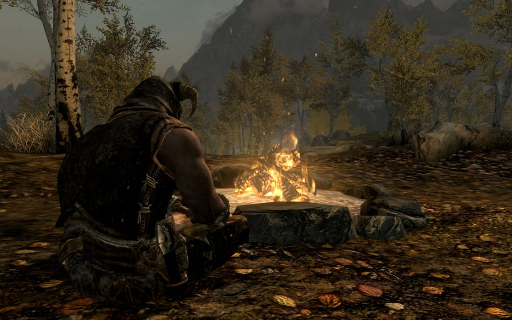 Frostfall and Campfire