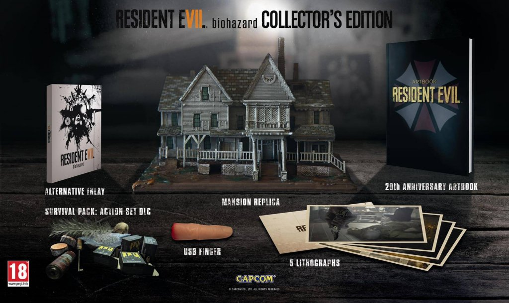 Resident Evil 7: Biohazard Collector's Edition (2017)