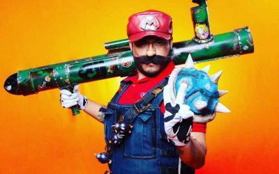 Супер Марио пересекается с Borderlands 3 в потрясающем косплее в стиле сел-шейдинг