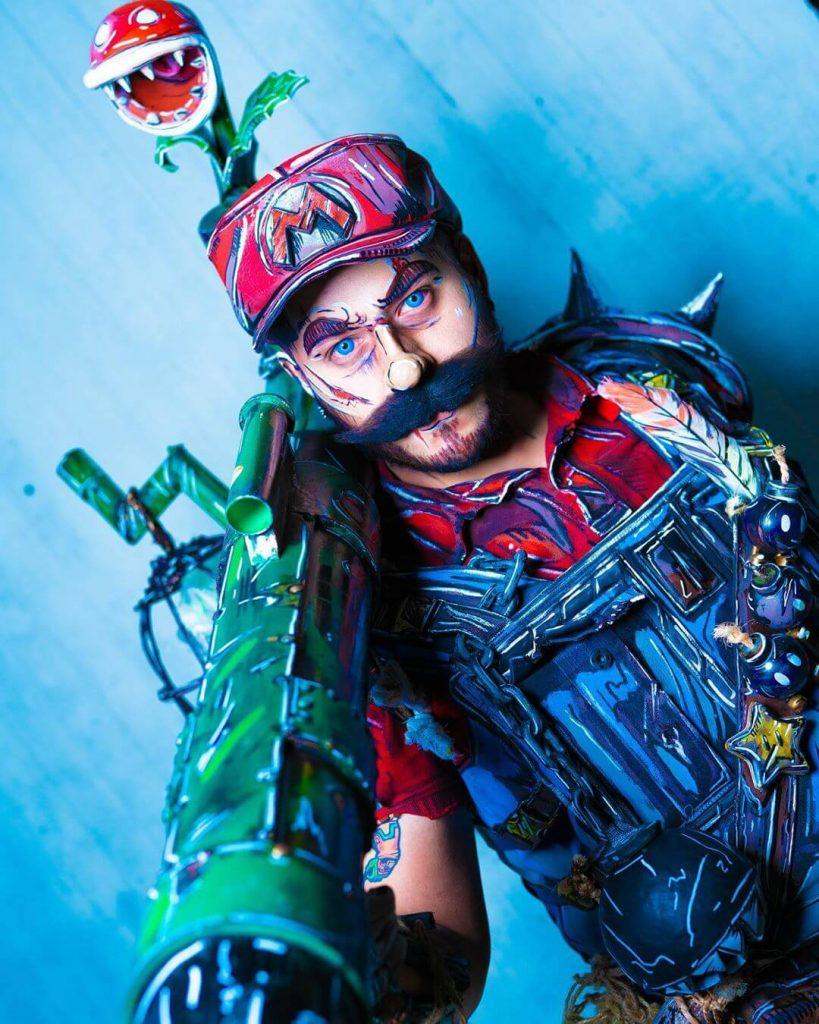 Супер Марио в потрясающем косплее в стиле сел-шейдинг