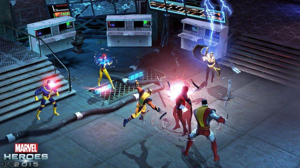 Рецензия на Marvel Heroes