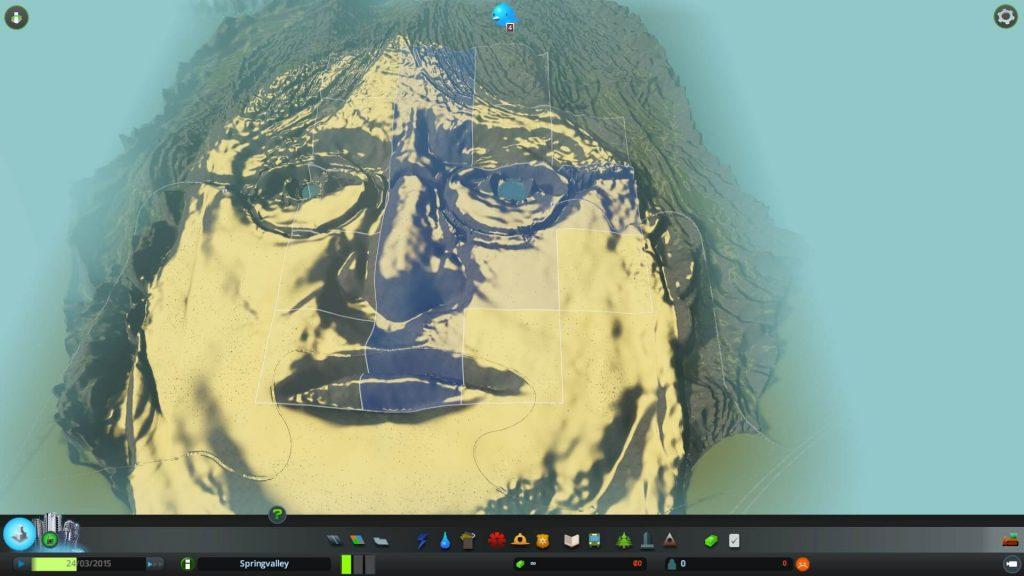 Gabe Newell's Face