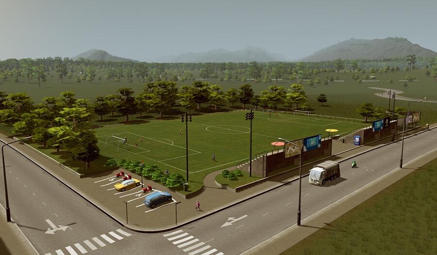 Public Soccer Field