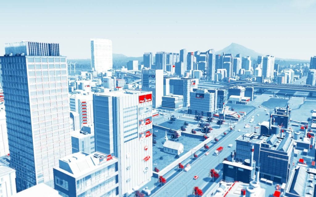 Mirror's Edge Menu LUT