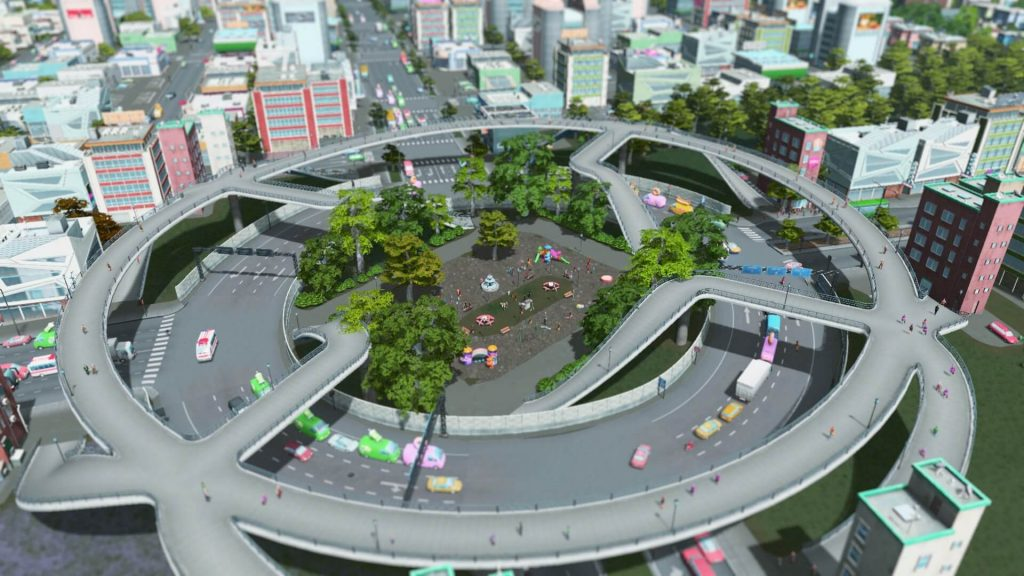 Elevated Pedestrian Roundabout