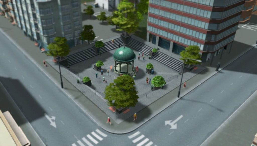 Sunken Plaza
