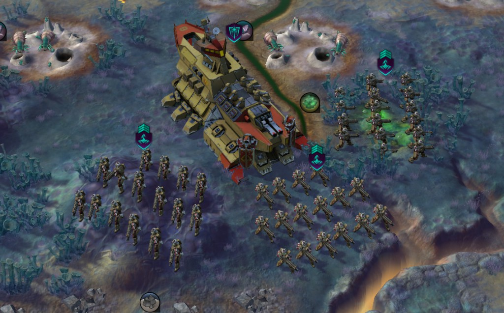 Immersive Armies