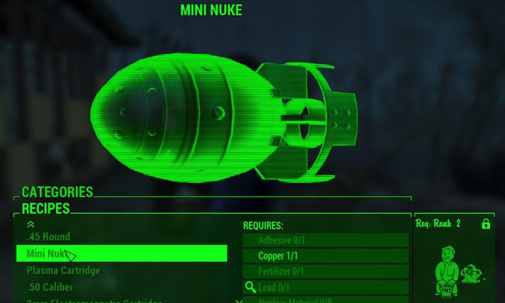 Craftable Ammunition