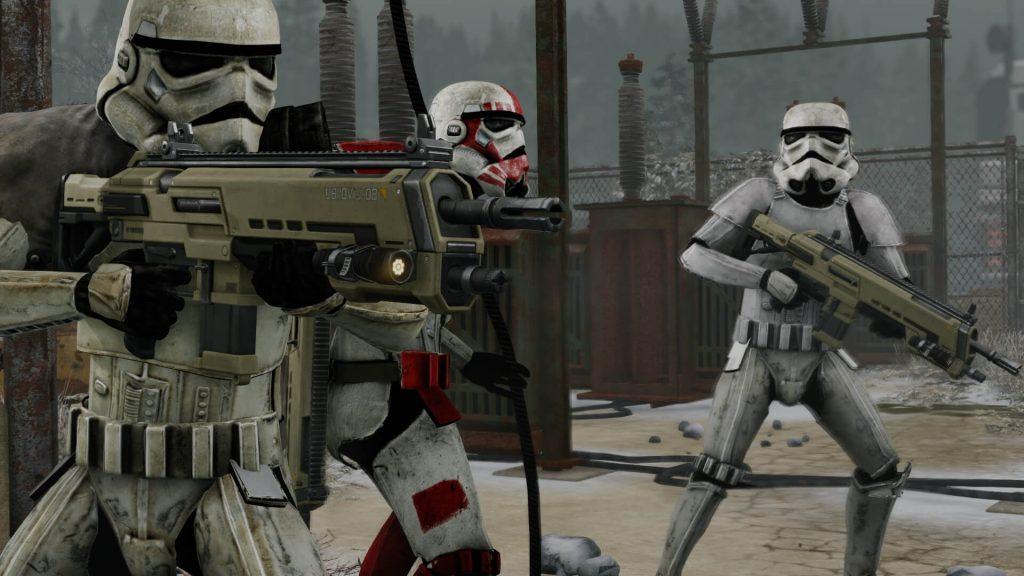 Броня имперцев из Star Wars для XCOM 2