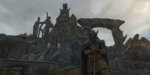 Битва при Вайтране в Skyrim