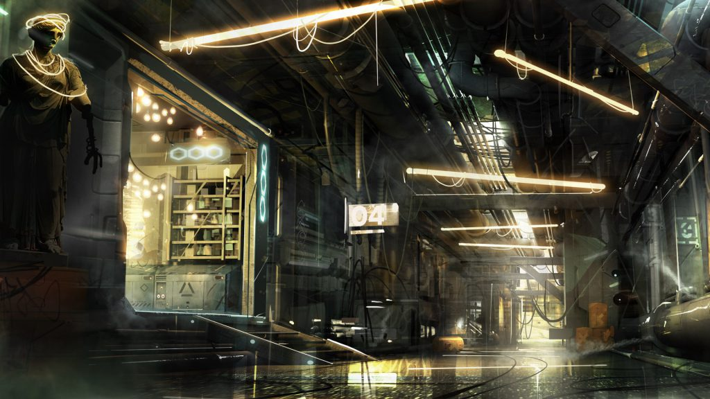 Концепт арты Deus Ex: Mankind Divided