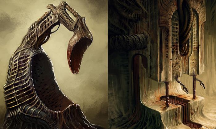 Scorn - будоражащий кровь хоррор шутер в двух частях