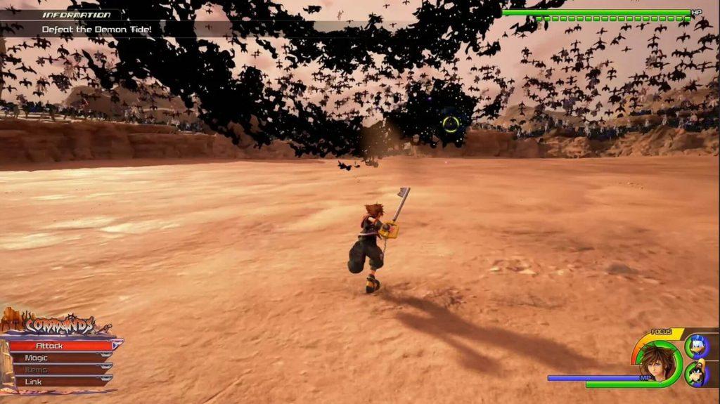 Kingdom Hearts 3 – Demon Tide