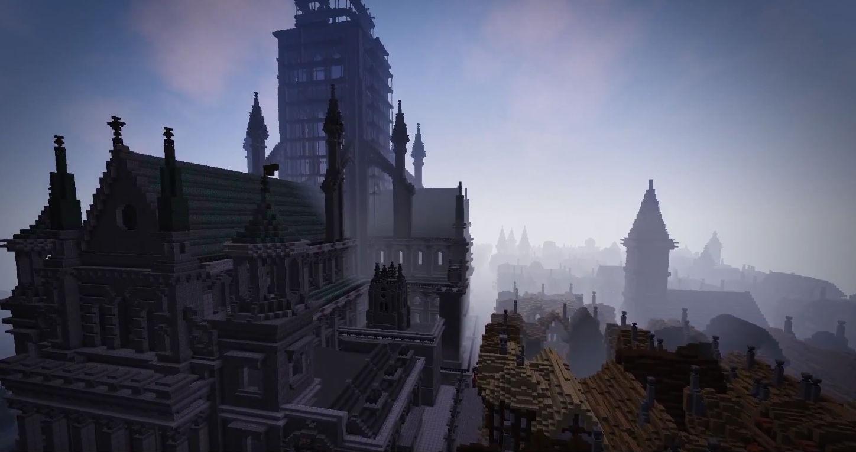 В Minecraft воссоздан Великий лондонский пожар