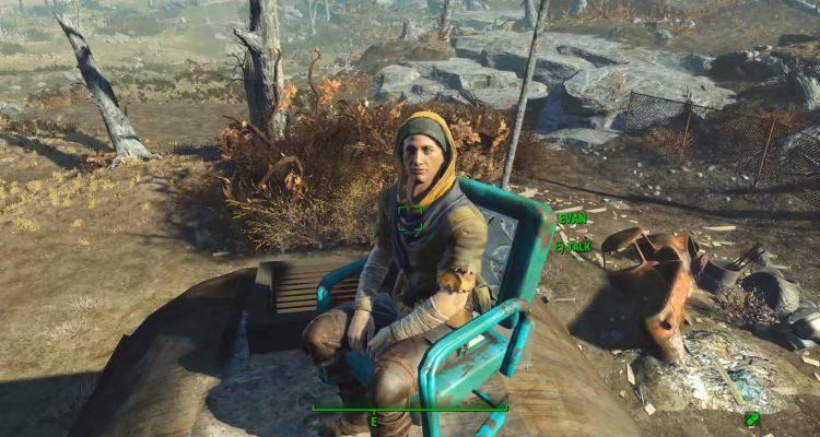 Разработчики добавили в Fallout 4 погибшего поклонника
