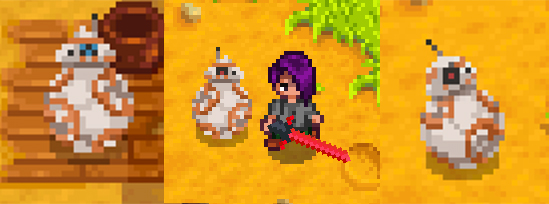 BB-8 вместо собаки или кошки