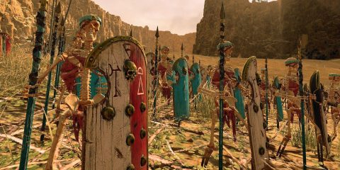 Total War: Warhammer 2 Rise of the Tomb Kings скрытая Heroes of Might and Magic
