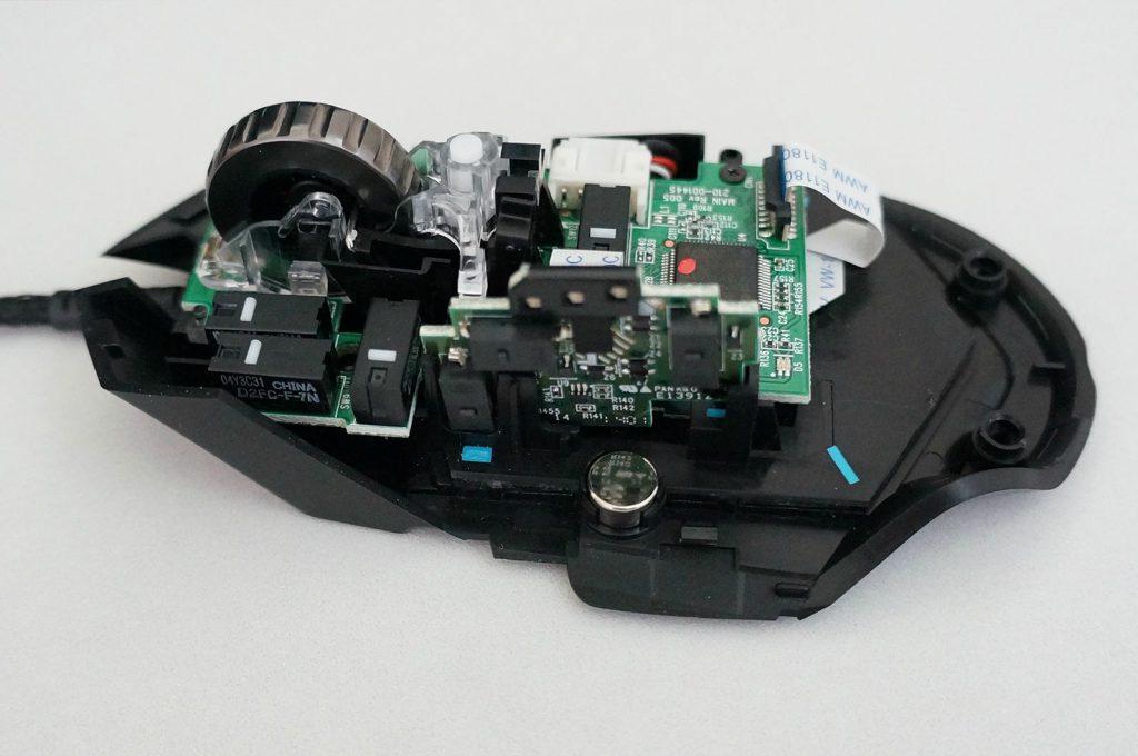 Игровая мышь Proteus Core в разобранном виде