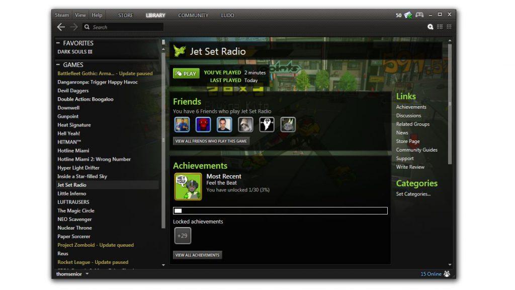 Minimal Steam UI V3