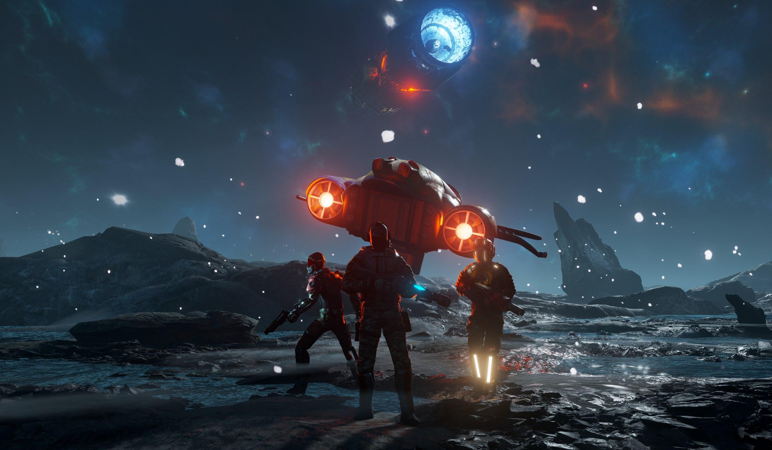 Российские разработчики показали свой «Mass Effect»