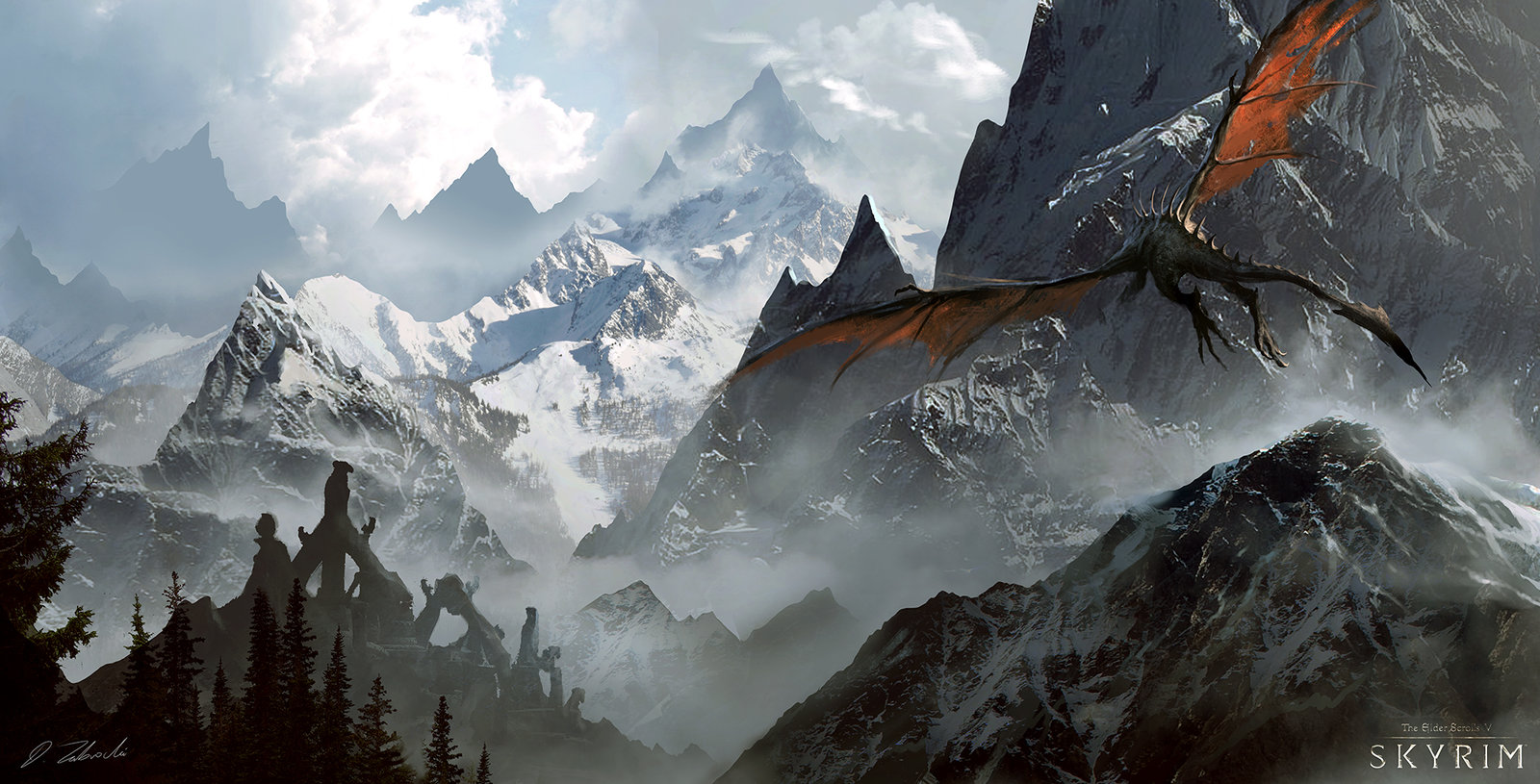 Лучшие моды для Skyrim Special Edition