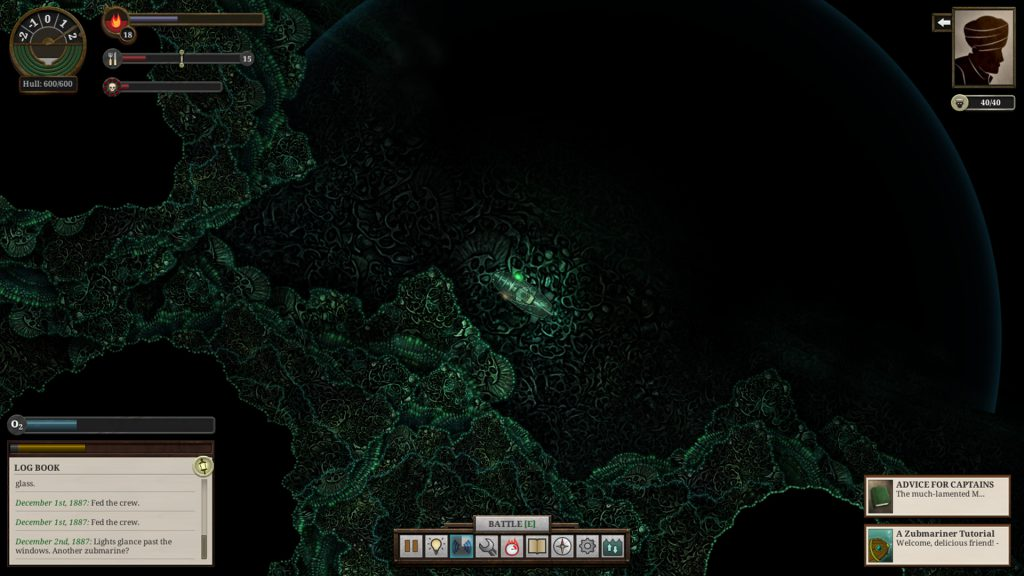 Обзор Sunless Sea - Zubmariner