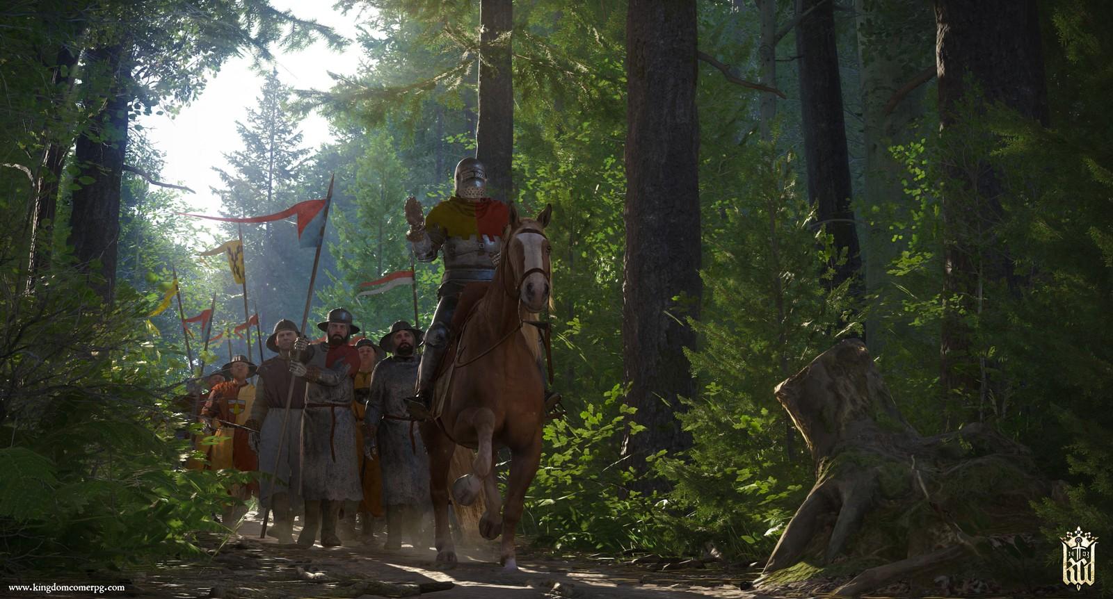 В Kingdom Come: Deliverance будет использоваться исторически достоверное оружие и доспехи