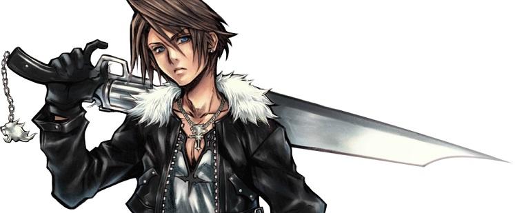 Squall Leonhart из «Final Fantasy VIII»