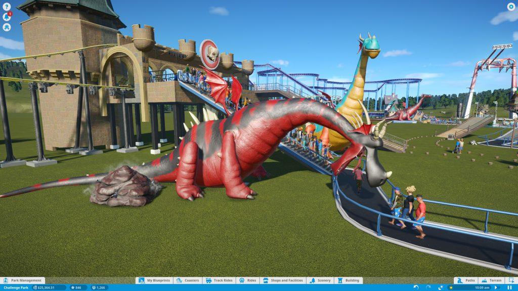 Обзор Planet Coaster