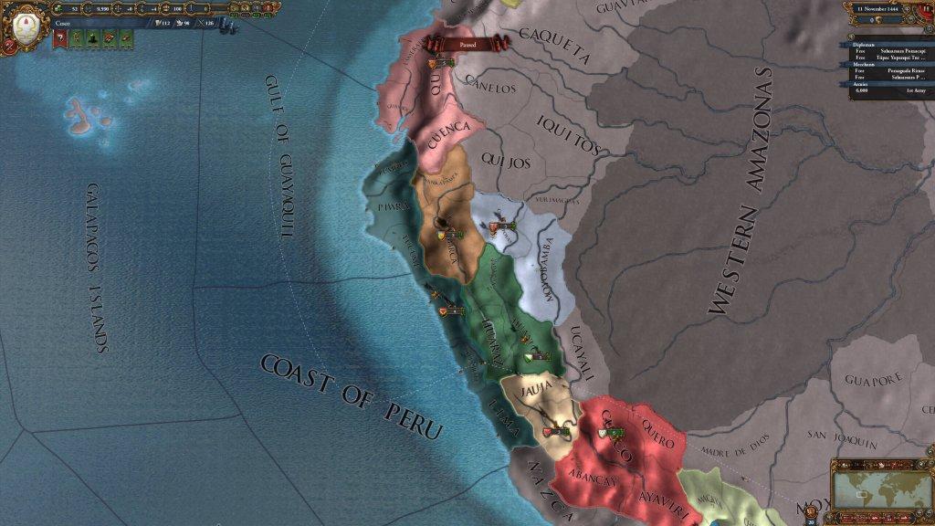 "Europa Universalis IV: как открыть достижение ""Шахиншах"" играя за Табаристан"
