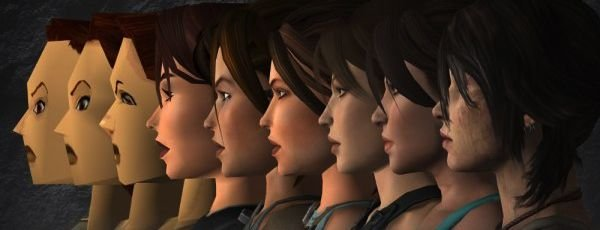 Эволюция Лары Крофт