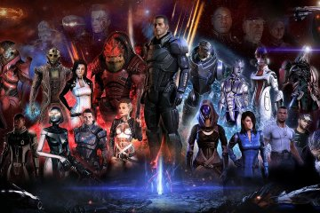 Лучшие компаньоны из Mass Effect