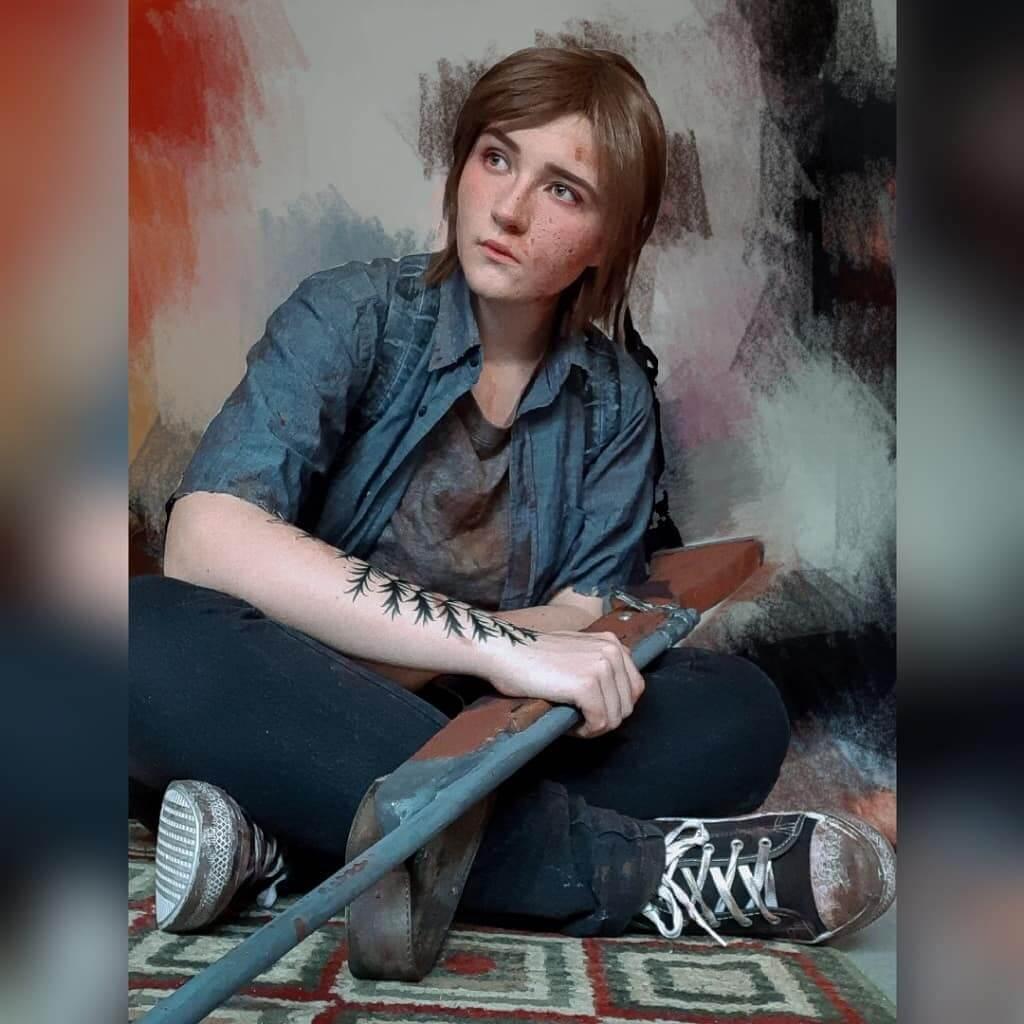 Невероятно хороший косплей на Элли из The Last of Us Part 2