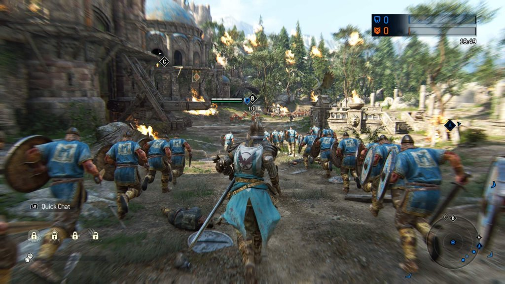 Обзор For Honor