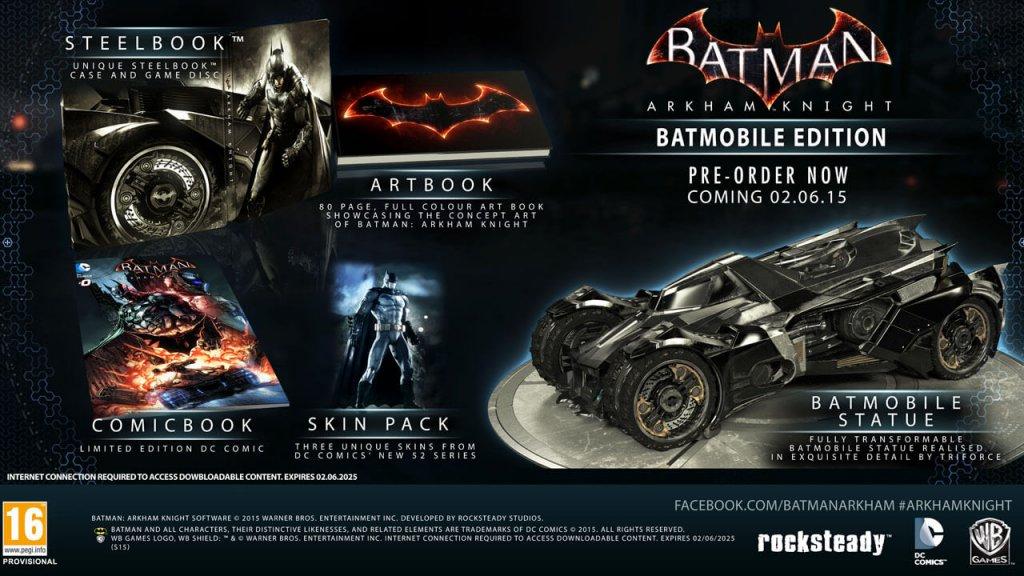 Batman: Arkham Knight Batmobile Edition (2015)