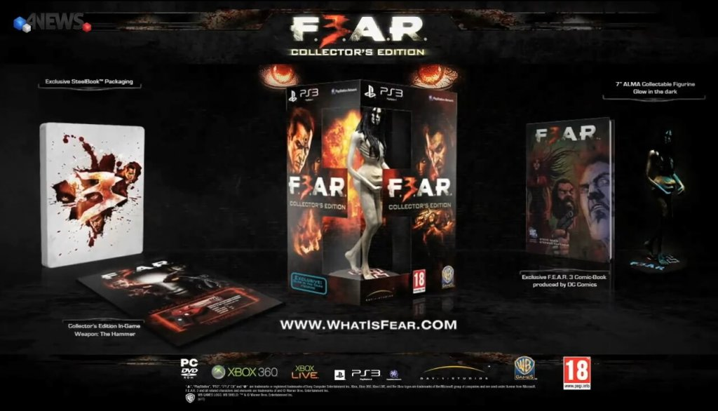 F.E.A.R. 3 Collector's Edition (2011)