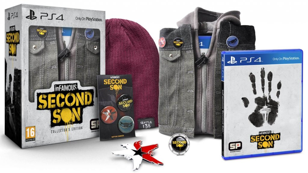 Infamous: Second Son Collector's Edition (2014)