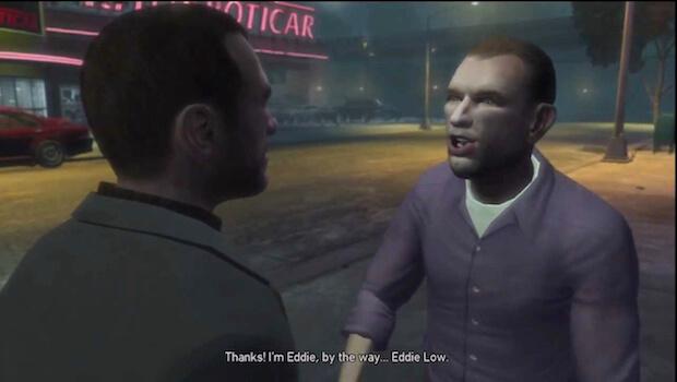 Встречи с Эдди Лоу (GTA 4)