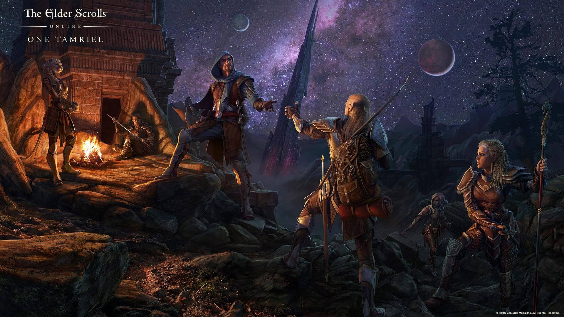 Elder Scrolls Online: немного истории, обзор дополнений One Tamriel, Update 12 и Gold Edition