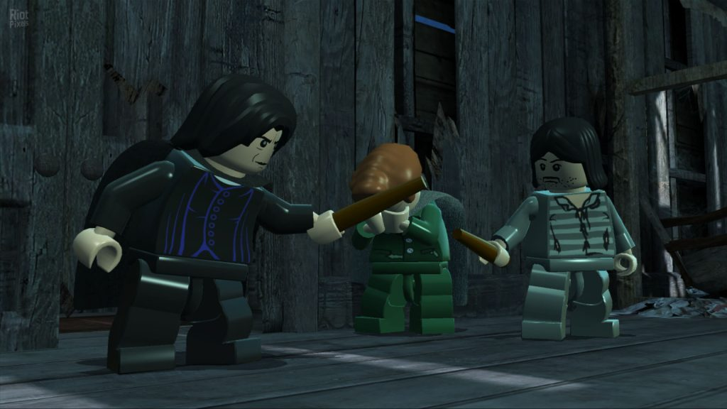 LEGO Harry Potter: Годы 1-4