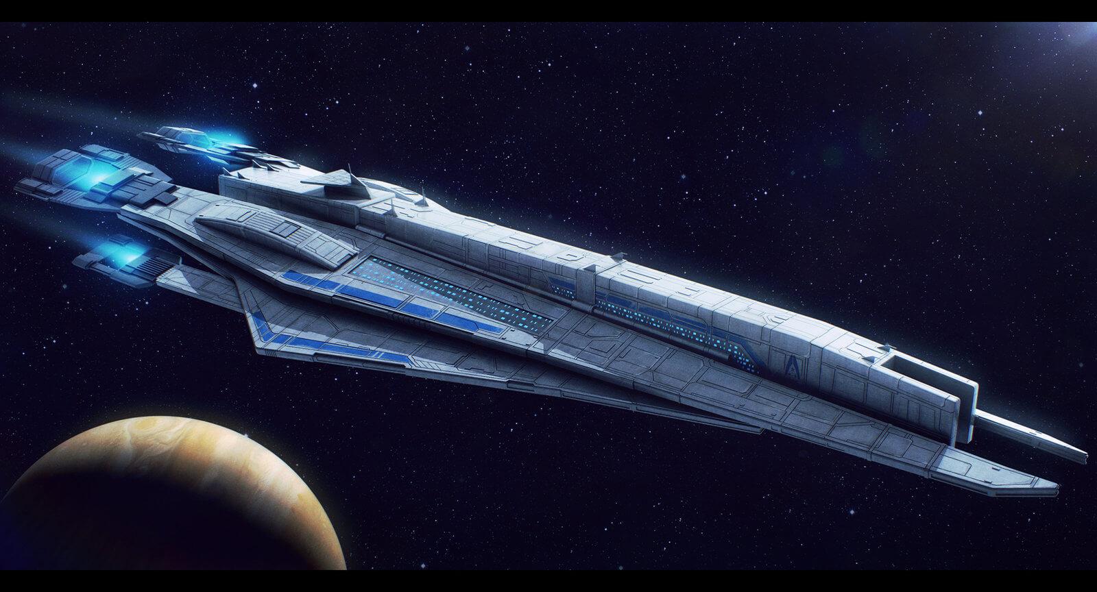 Концепты Mass Effect: Andromeda - что мы могли бы получить