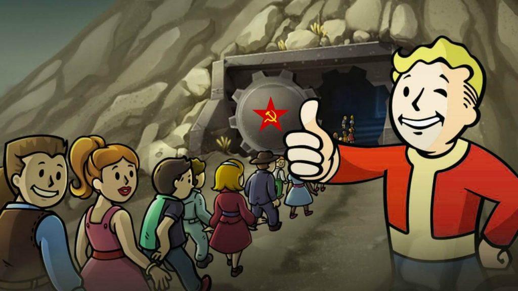 4. В Fallout Shelter мы наблюдаем эксперимент по проверке эффективности коммунизма в условиях постапокалиптического общества