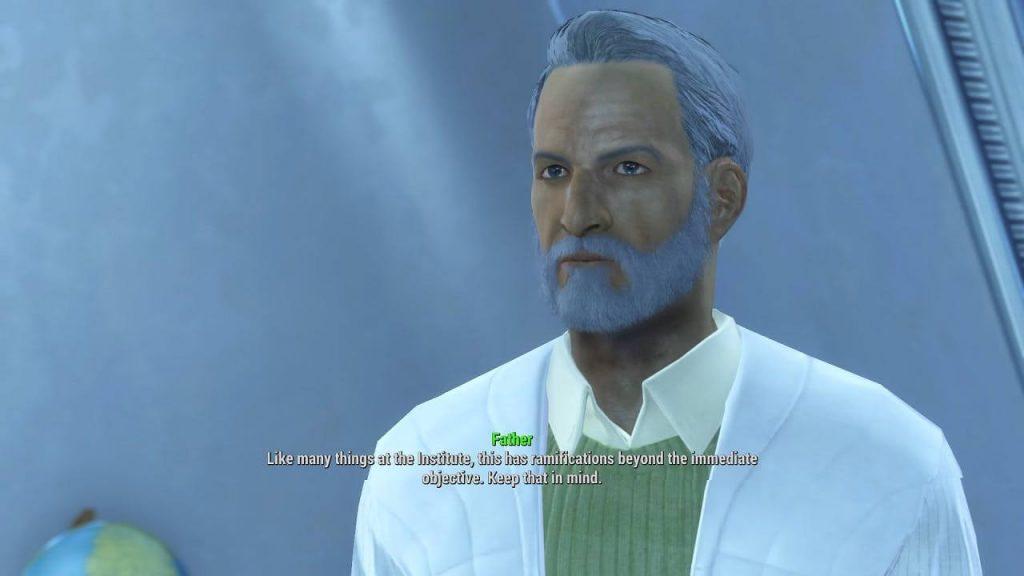7. Одна из запутанных теорий. В Fallout 4 мы играем за собственного дедушку?