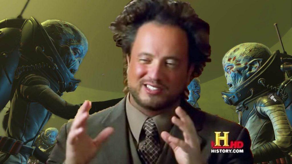 2. Забудем о Vault-Tec. А что, если Великую войну начали инопланетяне?