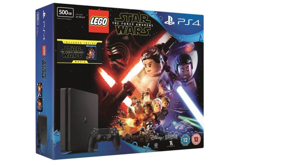 Ограниченное издание PS4 с подарочной копией Star Wars Battlefront