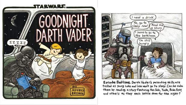 Книга «Спокойной ночи, Дарт Вейдер»