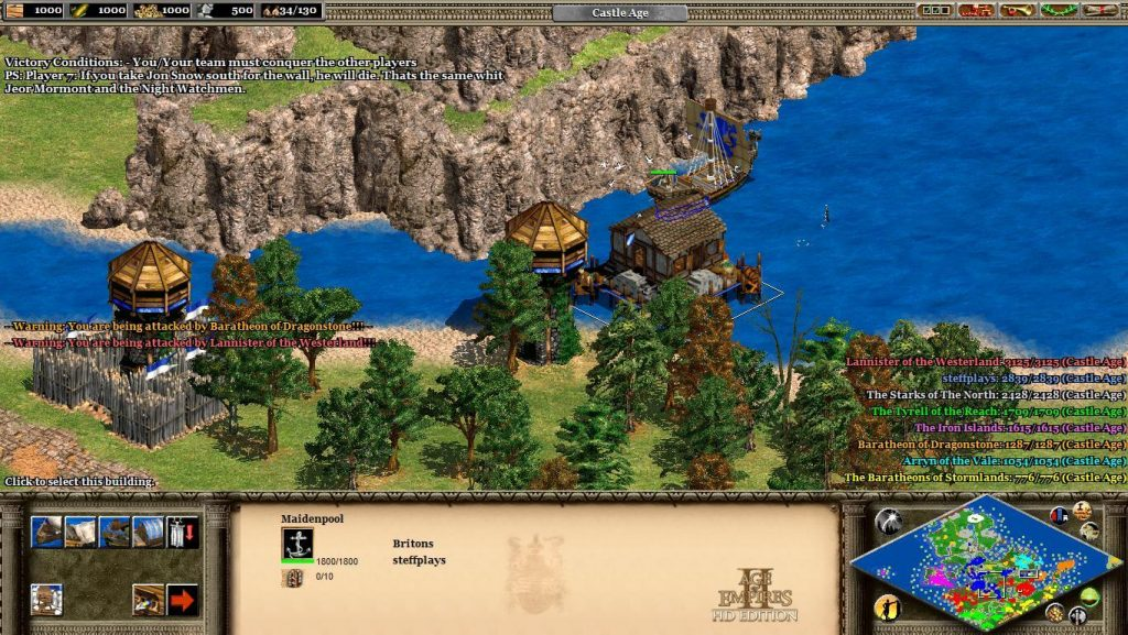 Ages of Empires 2: HD Edition—War of the Five Kings