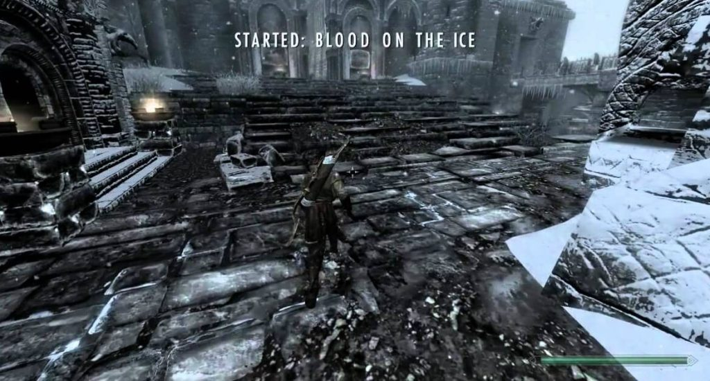 «Кровь на снегу», Skyrim