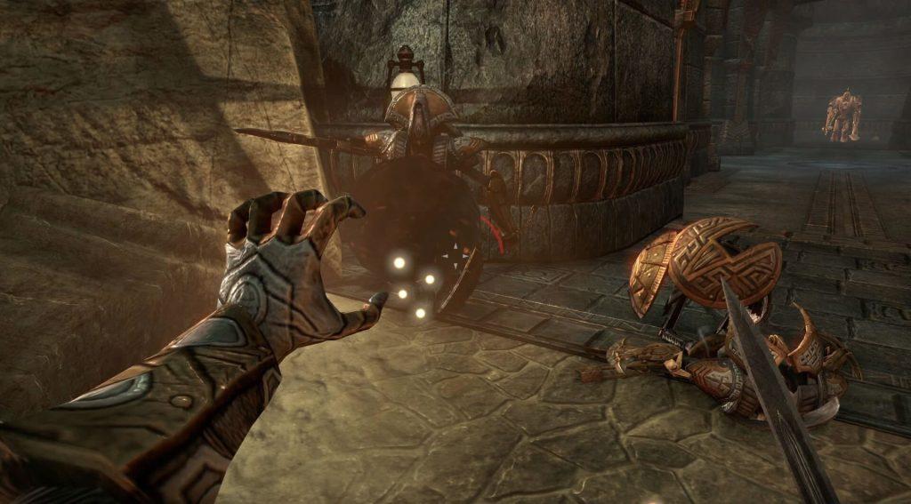 Elder Scrolls Online: Драконорыцарь-вампир с магическими навыками (2014)